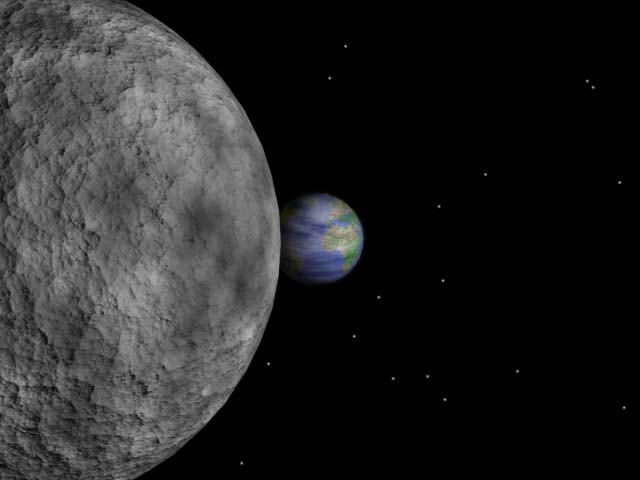 Earth And Moon Animation Pics About Space